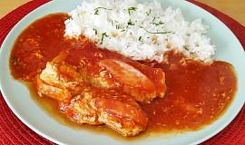 Vepřové na rajčatech s rýží