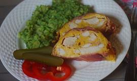Zapékané kuřecí ve slaninovém kabátku