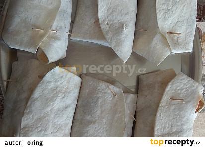 Drůbeží náplň do tortilly