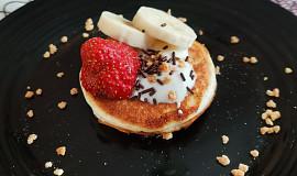 Proteinové lívanečky s ořechy (bez mouky a cukru)