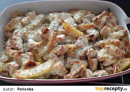 Zapékané bramborové pikantule