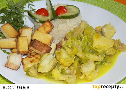 Kuřecí maso s tofu