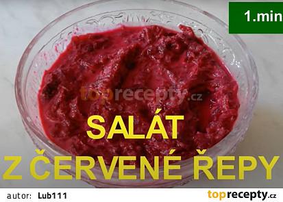Salát z červené řepy za 1.minutu