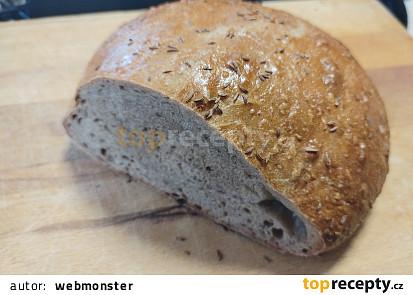 Domácí pšenično - žitný chléb