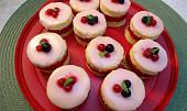 Rybízové dortíky s punčovinou