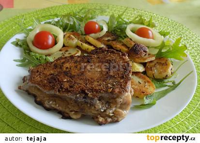 Rybí filety s lískovými oříšky