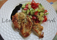 Kuřecí prsíčka na domácím grilu