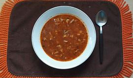 Dršťková polévka z předvařených drštěk I.