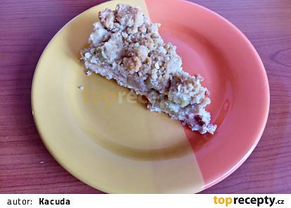 Bezlepkový rebarborový koláč