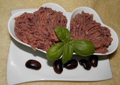 Pomazánka z červených fazolí