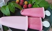 Malinovo - jogurtové nanuky