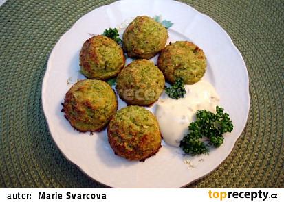 Brokolicovo-sýrové bochánky