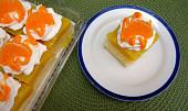 Pomerančové řezy nebo kostky