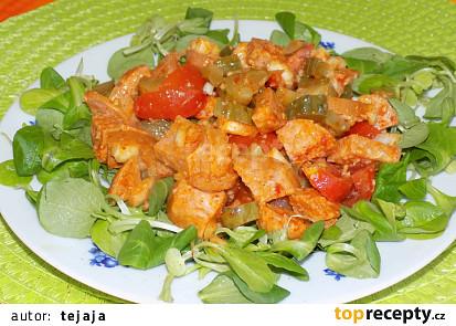 Rychlý špekáčkový salát