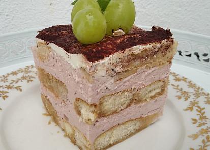 Nepečený dezert s tvarohovým krémem