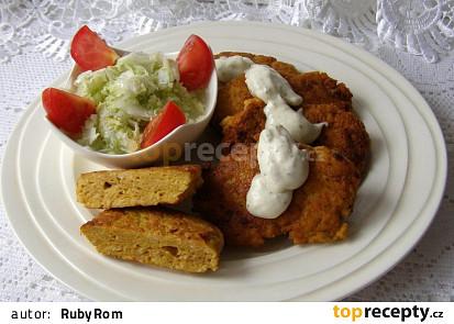Pikantní karbanátky z kuřecího masa