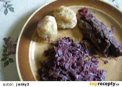 Bramborovo cuketové knedlíčky
