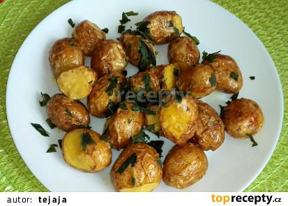 Pečené brambory na francouzský způsob
