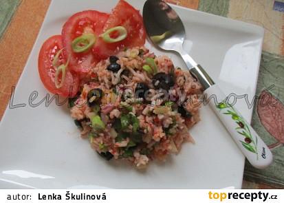 Rýžový salát I.