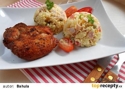 Rýžový salát - příloha ke grilovanému masu