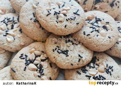 Arašídove sušenky (cookies)