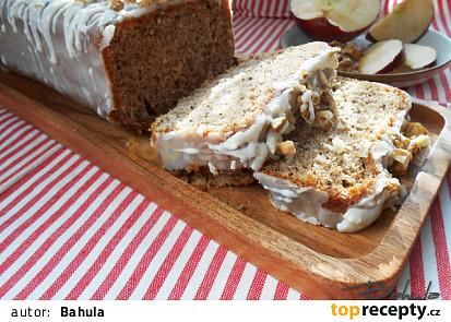 Jablkovo - rumový chlebíček
